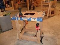 Router Table Tape Up